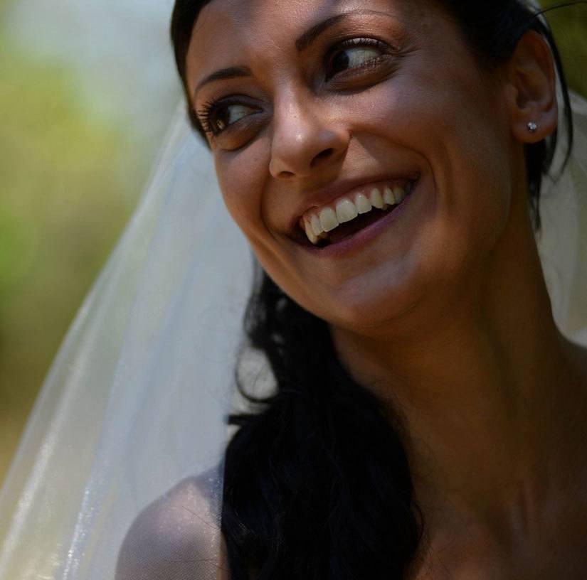 Monica Valenti, mati in nevesta