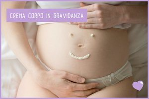 Krema za telo na trebuhu v nosečnosti