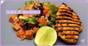quinoa e salmone